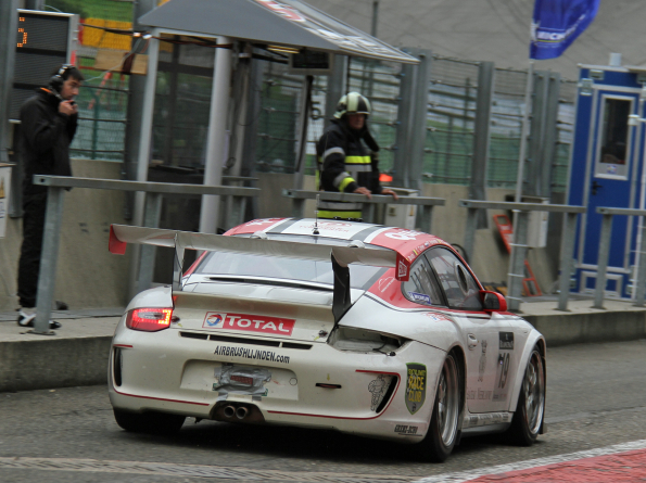 #19 Level Racing Porsche 997 GT3 Cup S Brody Christophe Corten Mathijs Herkema