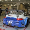 NEC Porsche in der Box