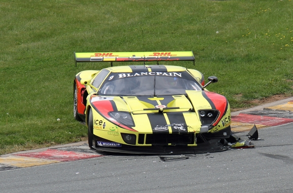 Unfall Ford GT
