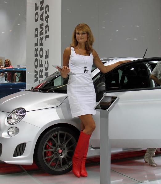 Abarth Stand