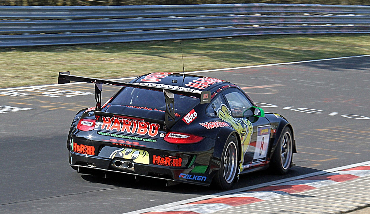 haribo manthey porsche vln n rburgring motorsport bilder motorsport magazin. Black Bedroom Furniture Sets. Home Design Ideas